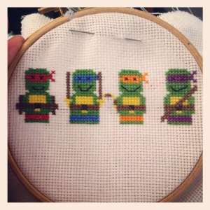 Tiny Ninja Turtles